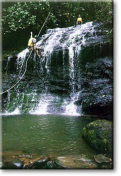 Canyoning the Rivers of Quepos