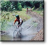 Mountain Bike water crossing